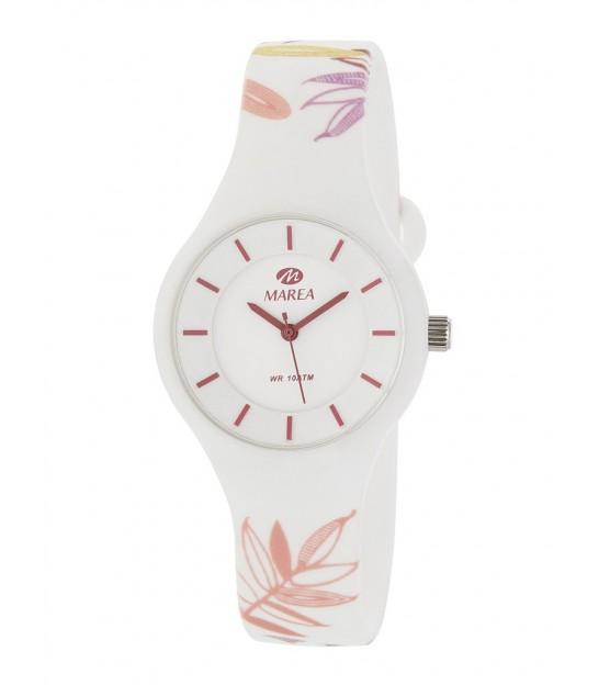 Rellotge Marea B35325/43 Bloom Blanc