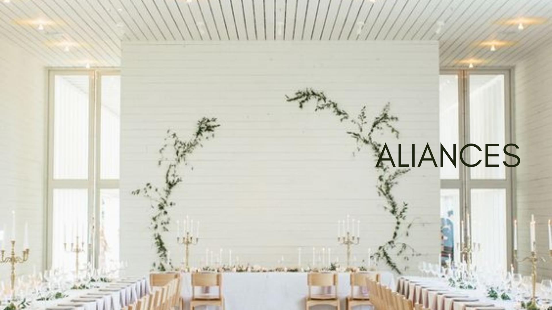 Aliances matrimoni or